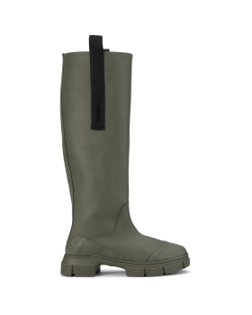 Ganni - COUNTRY BOOT RECYCLED RUBBER
