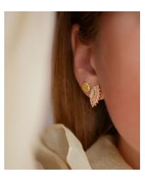 Enamel - EDNA EARRINGS